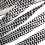 zigzag schwarz