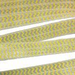 zigzag gelb
